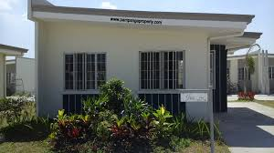 Row House Model - bridgepointe place afrodable house and lot in del rosario san