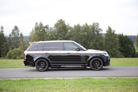 range rover autobiography 2015 mansory put its signature all over this range rover