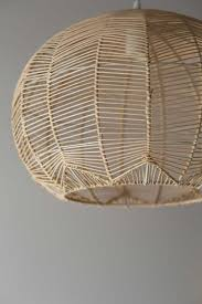 Wicker Pendant Light Lace Rattan Light Pre Order Only Rattan Lights And
