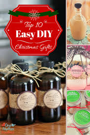 Homemade Christmas Gifts by Top 10 Easy Diy Christmas Gifts One Mother To Another