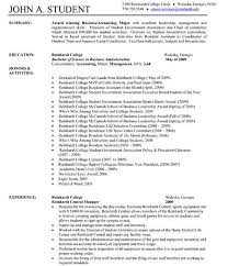 communication resume sample resume examples the best cv and one page resume template write in