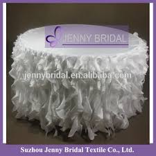 wedding table linens for sale tc017h wholesale party white organza elegant wedding table linens