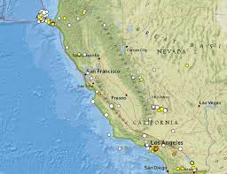 Usgs Real Time Earthquake Map M5 1 La Habra Earthquake A Warning For Los Angeles California