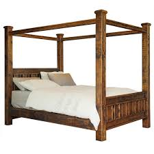 buy online early settler reclaimed four poster pine bed