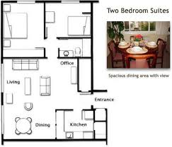 floor plan two bedroom suite picture of la residence suite