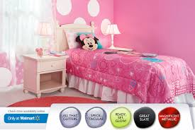 Minnie Mouse Bed Frame Minnie Mouse Room Spoonful Of Imagination