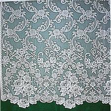 lace curtains eloquence of roses 60x84 white panel heritage lace
