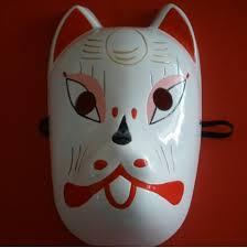 Naruto Halloween Costumes Adults Naruto Fox Masquerade Faces Masks Kids