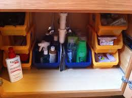 under the counter bathroom organization thank you dollar tree for