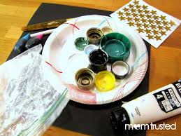 Make Purple Paint Once In A Blue Or Purple Moon How To Make Moon Paint