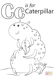 printable caterpillar insect coloring books for kids printable