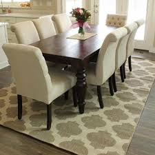 best rugs for dining room of nifty best rug for under dining room