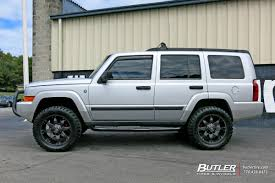 commander jeep 2010 jeep commander custom wheels fuel octane 20x et tire size r20
