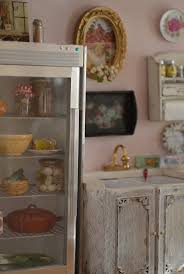 229 best miniature laundry kitchen images on pinterest dollhouse kitchen stool miniature see more amazing mini fridge cynthia s cottage design