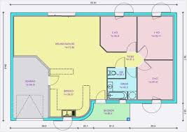 modele maison plain pied 3 chambres 40 meilleur de plan maison plain pied 3 chambres 110m2 idées de
