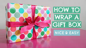 wrapping gift boxes can you wrap how to wrap a gift box how to tie a ribbon