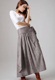 women s skirts wrap skirt boho skirt linen skirt maxi skirt womens