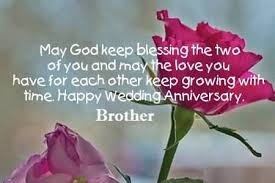 Wedding Quotes For Brother Anniversary Wishes For Brother Archives Page 23 Nicewishes