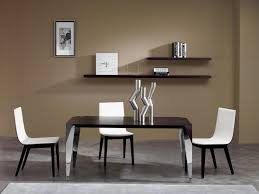 contemporary dining table set for minimalist small penthouse