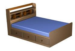mate u0027s queen bed captain u0027s bookcase headboard plans