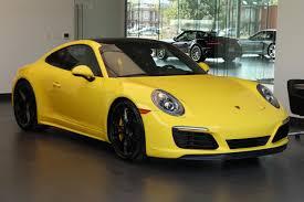 Porsche Macan Yellow - new 2017 porsche 911 carrera 4s