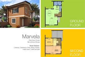 Camella Homes Drina Floor Plan Camella Las Piñas Marvela Model Homes Camella Homes