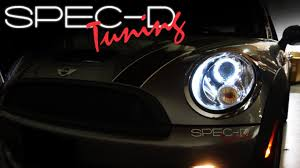 specdtuning installation 2007 and up mini cooper projector