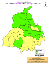 Punjab Map Districtwise Fertility Index