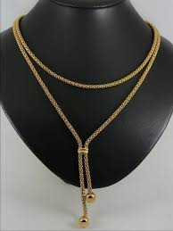 gold chain necklace sizes images Heavy modern design 18k gold necklace size 46cm catawiki jpg