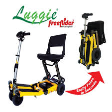 Travel Scooter images Luggie folding standard travel scooter travel mobility scooter jpg