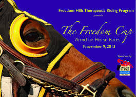 Armchair Racing Armchair Horse Races To Benefit Freedom Hills Local News