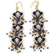 arabian earrings indian costume handmade imitation bridal wedding fashion lakh