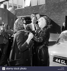 zsa zsa gabor at london airport with her daughter francesca hilton