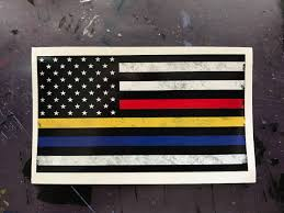 Free American Flag Stickers Thin Blue Line Thin Red Line Thin Gold Line Sticker Free