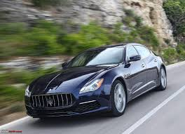 maserati quattroporte 2012 maserati quattroporte gts launched at rs 2 7 crore team bhp