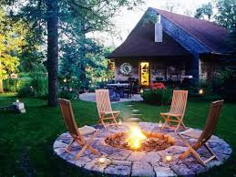 Backyard Firepits Diy Backyard Pits On A Budget Fireplaces Firepits