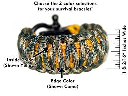 woven survival bracelet images Wide thick paracord survival bracelet king cobra weave jpg