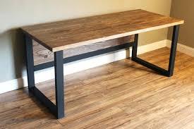 Modern Rustic Desk Rustic Modern Desk Rustic Modern Desk Handcrafted Industrial