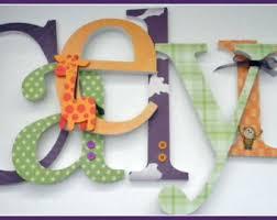 nursery letters etsy