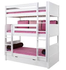 three bunk beds conserving space and staying trendy with triple bunk beds triple