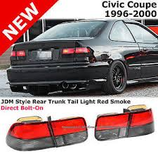 honda civic rear honda civic coupe 96 00 ek jdm rear trunk bumper brake lights