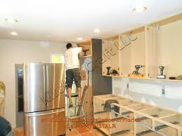 How To Install Cabinets In Kitchen Installing Kitchen Cabinets Hbe Kitchen