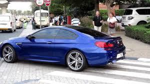 bmw m6 blue 2013 bmw m6 purple blue details and wheel spin around