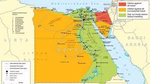 Egypt On World Map Egypt Itv News