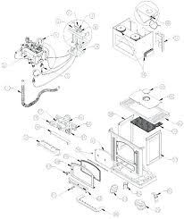 gas stove parts diagram kenmore gas range parts manual kenmore gas