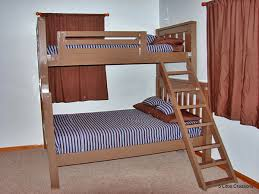 Plans For Twin Over Queen Bunk Bed by Ana White Twin Over Full Simple Bunk Bed Plans Diy Projects