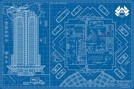 nakatomi plaza blueprints die hard shut up and take my money