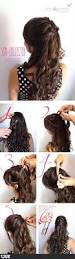 Easy Hairstyles Wavy Hair by Best 25 Very Easy Hairstyles Ideas On Pinterest Simple Updo