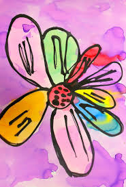 georgia o keeffe coloring pages art eat tie dye repeat kindergarten georgia o u0027keeffe flowers