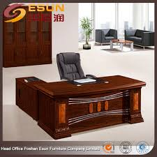 tables de bureau haut de gamme classique table de mobilier de bureau exécutif bureau